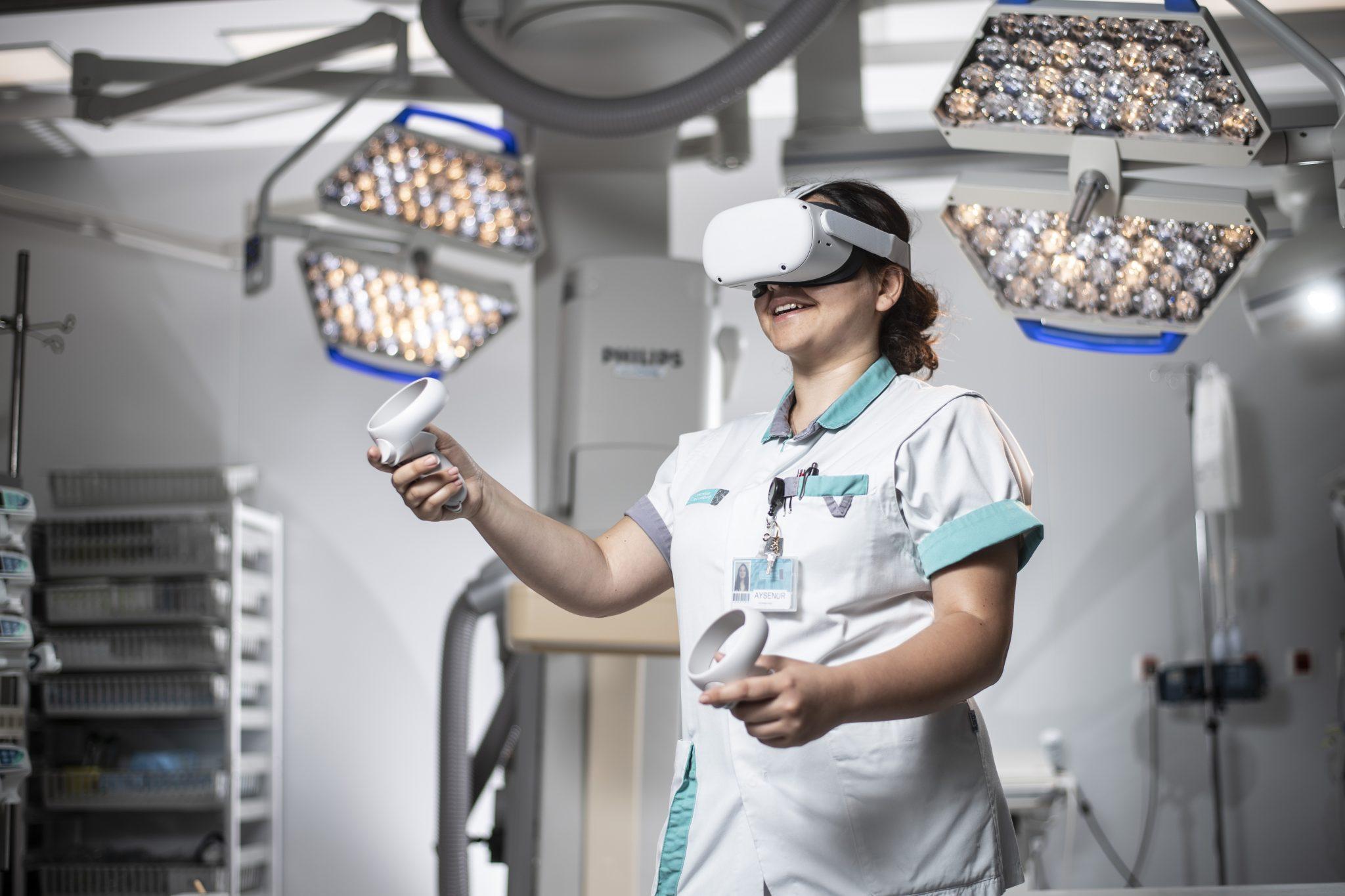 virtual reality nurse