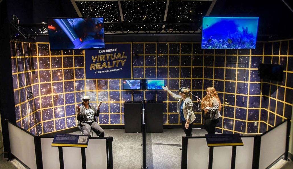 VR in the Franklin Institute